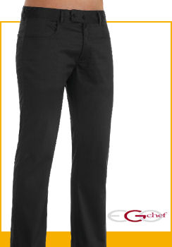 : PANTALONI VITA BASSA BLACK FASHION